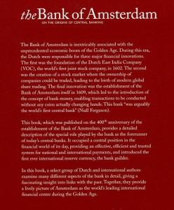 Bank Of Amsterdam Origineel English backcover (verkleint voor op site)